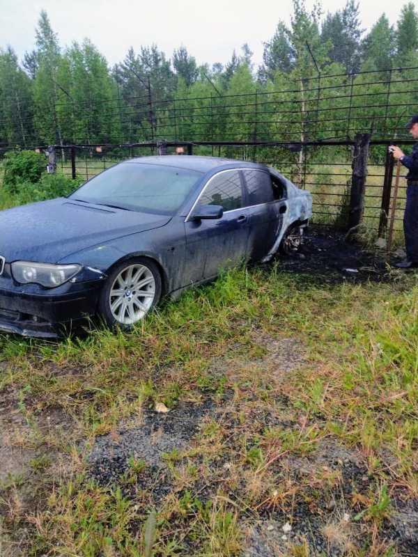 BMW 7-Series, 2002 год, 105 000 руб.