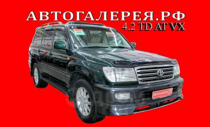 Toyota Land Cruiser, 2002 год, 1 428 000 руб.