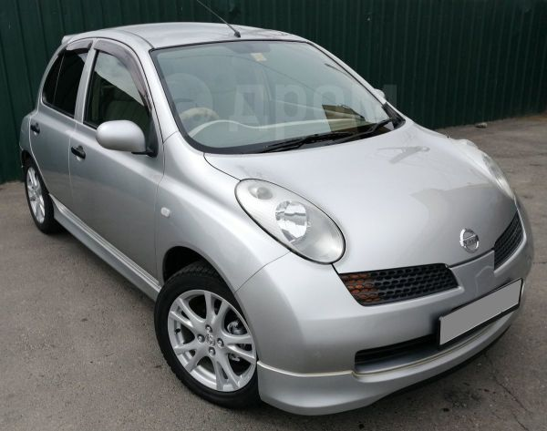 Nissan March, 2003 год, 302 000 руб.