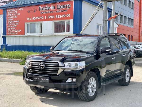 Toyota Land Cruiser, 2017 год, 3 850 000 руб.