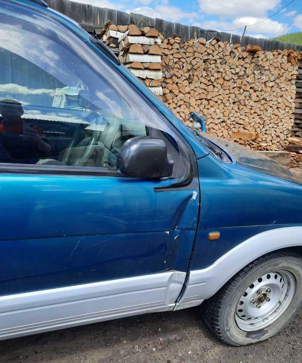 Daihatsu Terios, 1998 год, 165 000 руб.