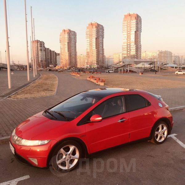 Honda Civic, 2007 год, 399 000 руб.