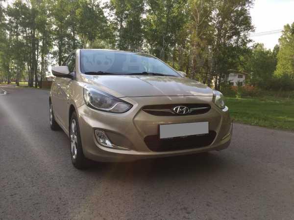 Hyundai Solaris, 2012 год, 495 000 руб.
