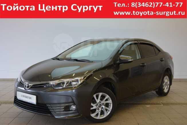 Toyota Corolla, 2017 год, 1 070 000 руб.