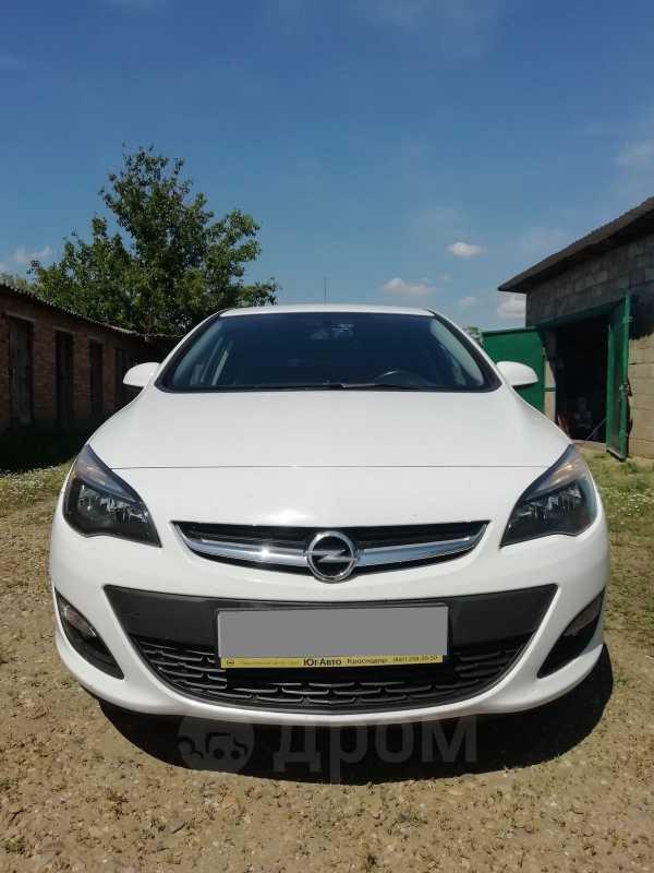 Opel Astra, 2014 год, 515 000 руб.