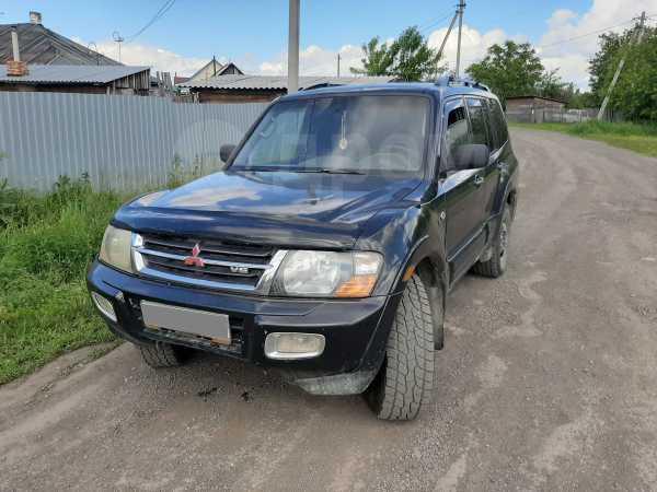Mitsubishi Montero, 2001 год, 370 000 руб.