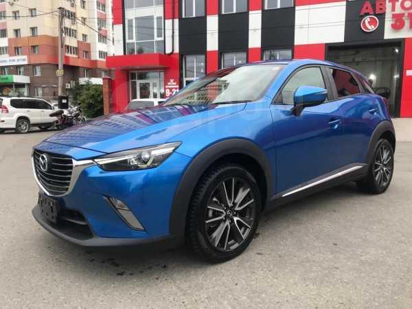Mazda CX-3, 2016 год, 980 000 руб.