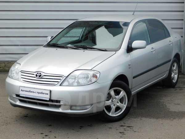 Toyota Corolla, 2002 год, 263 942 руб.