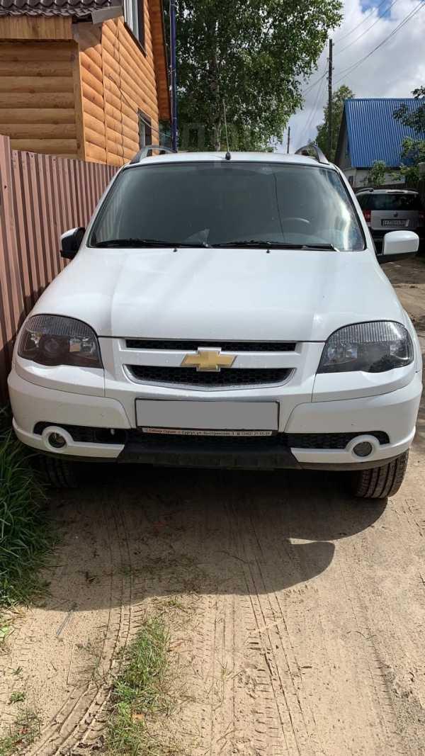 Chevrolet Niva, 2017 год, 595 000 руб.