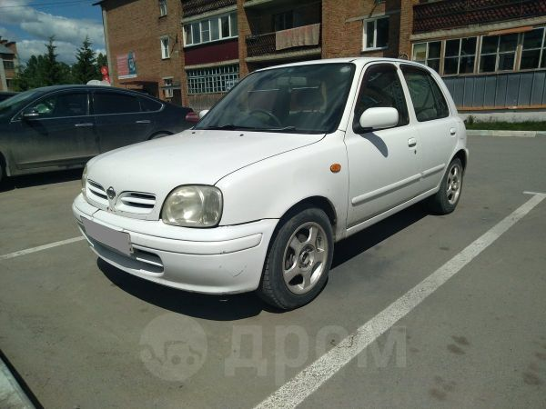 Nissan March, 2001 год, 117 000 руб.