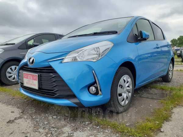 Toyota Vitz, 2017 год, 549 000 руб.