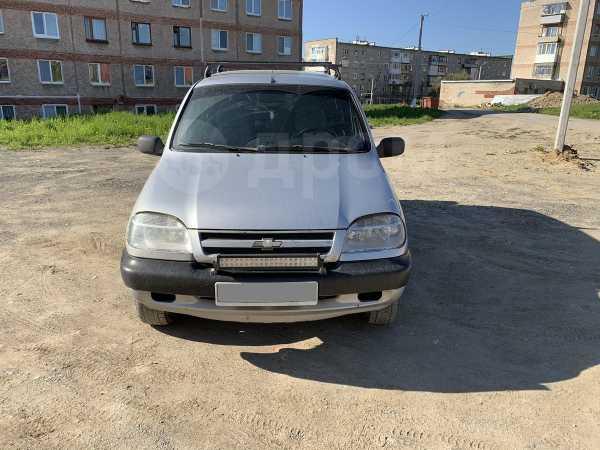 Chevrolet Niva, 2003 год, 111 000 руб.
