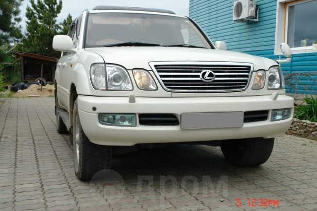 Toyota Land Cruiser Cygnus, 2001 год, 1 100 000 руб.