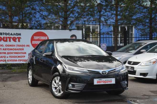 Toyota Corolla, 2017 год, 1 120 000 руб.