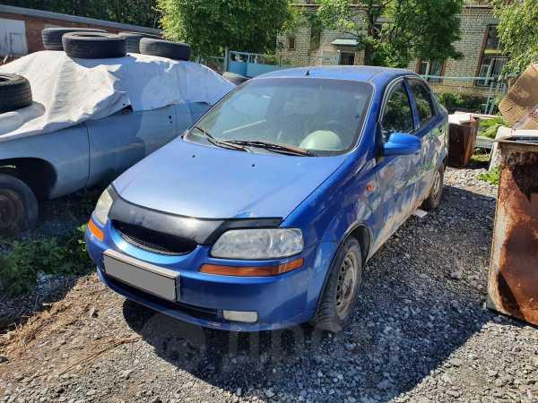 Chevrolet Aveo, 2004 год, 53 000 руб.