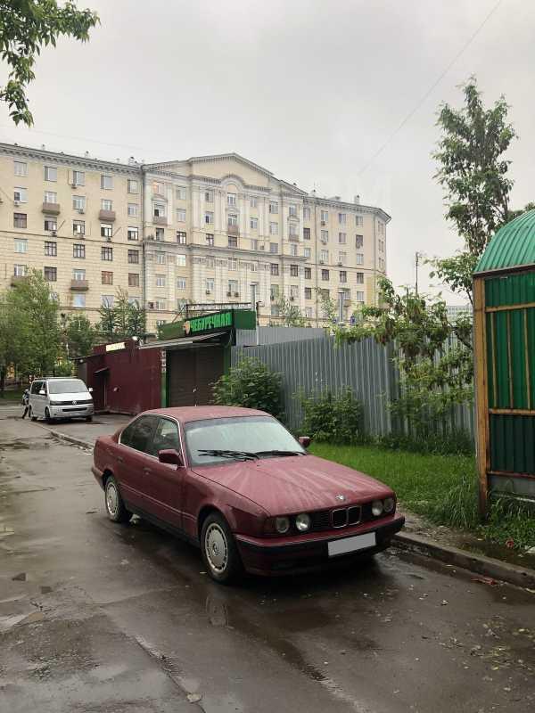 BMW 5-Series, 1990 год, 95 000 руб.