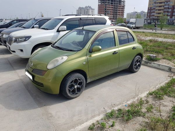 Nissan March, 2002 год, 180 000 руб.