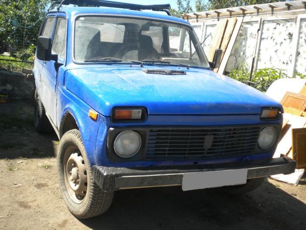 Лада 4x4 2121 Нива, 1982 год, 78 000 руб.