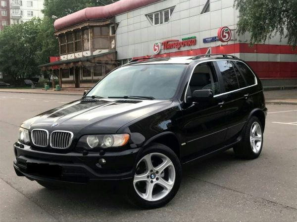 BMW X5, 2001 год, 395 000 руб.