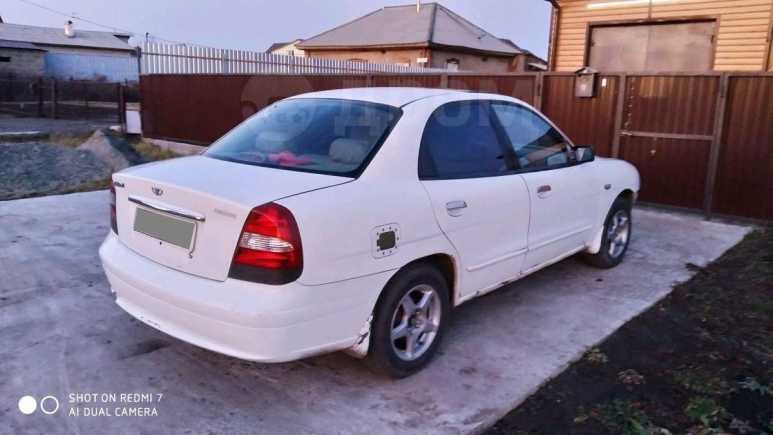 Daewoo Nubira, 2001 год, 110 000 руб.