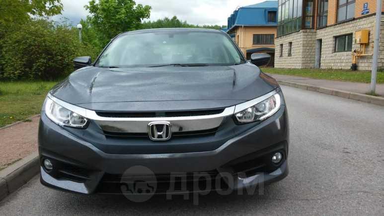Honda Civic, 2016 год, 1 198 000 руб.