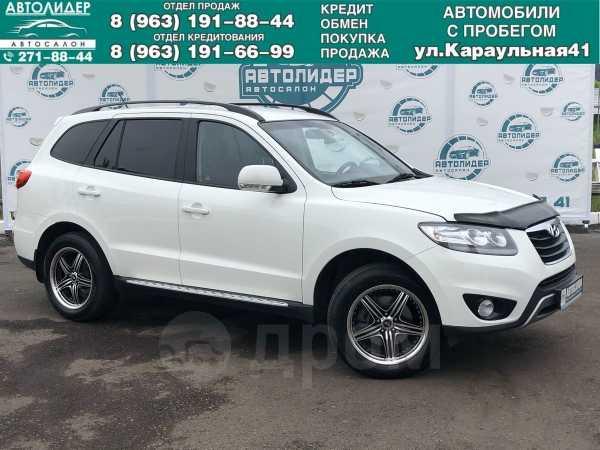 Hyundai Santa Fe, 2012 год, 957 000 руб.