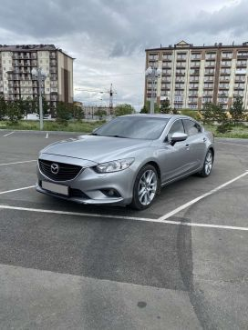 Кызыл Mazda Mazda6 2013