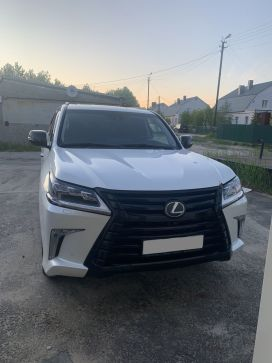 Новый Уренгой LX570 2018
