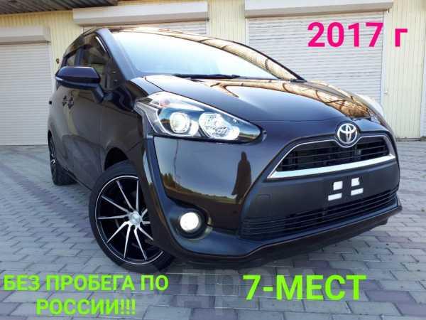 Toyota Sienta, 2017 год, 950 000 руб.