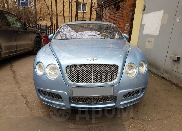 Bentley Continental GT, 2004 год, 1 710 000 руб.