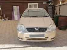 Анапа Corolla Runx 2001