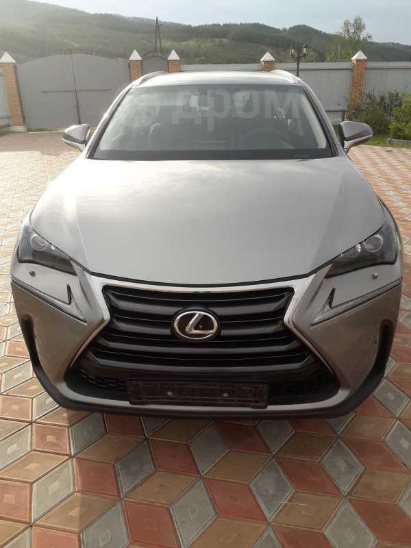 Lexus NX200t, 2017 год, 2 100 000 руб.