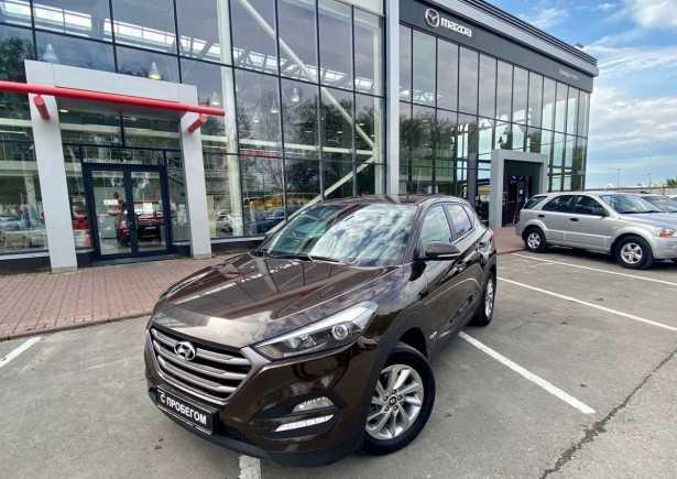 Hyundai Tucson, 2017 год, 1 355 000 руб.