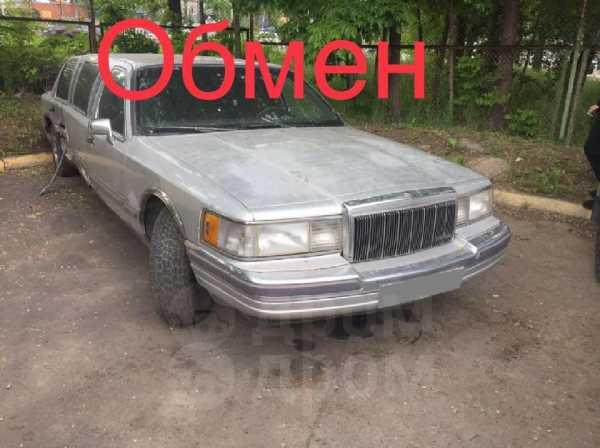 Lincoln Town Car, 1990 год, 89 000 руб.