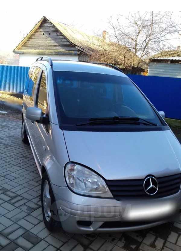 Mercedes-Benz Vaneo, 2002 год, 190 000 руб.
