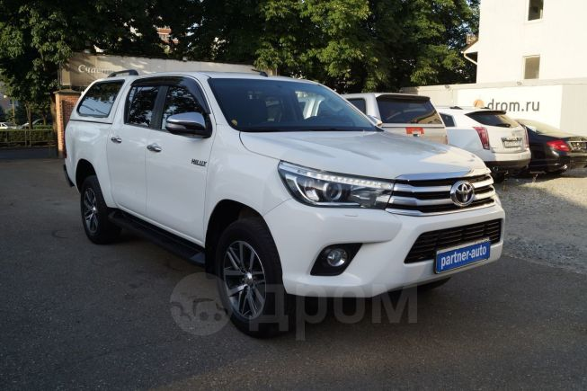 Toyota Hilux Pick Up, 2016 год, 1 910 000 руб.