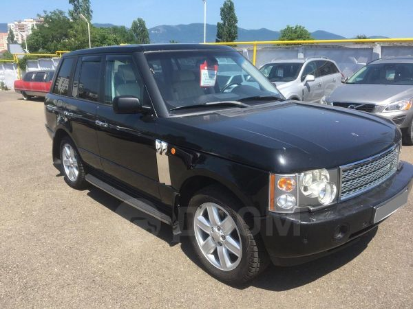 Land Rover Range Rover, 2004 год, 580 000 руб.