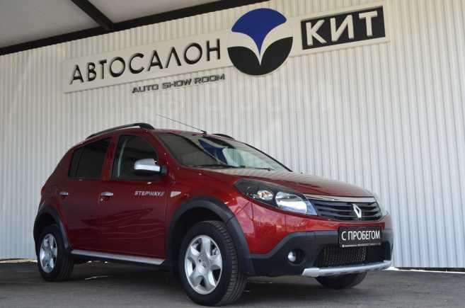 Renault Sandero Stepway, 2011 год, 389 000 руб.