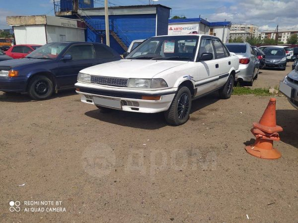 Toyota Corolla, 1988 год, 108 000 руб.