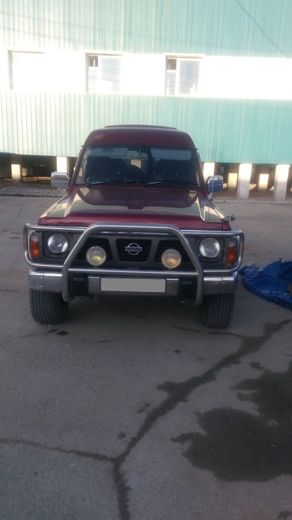 Nissan Safari, 1994 год, 680 000 руб.