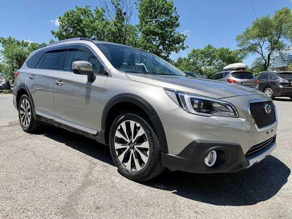 Subaru Outback, 2017 год, 1 424 000 руб.