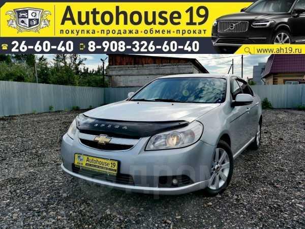 Chevrolet Epica, 2012 год, 549 000 руб.