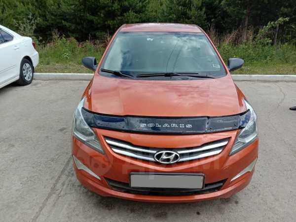 Hyundai Solaris, 2015 год, 567 000 руб.