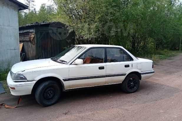 Toyota Corolla, 1990 год, 119 000 руб.