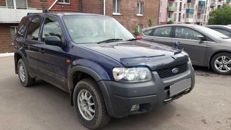 Ford Escape, 2002 год, 340 000 руб.