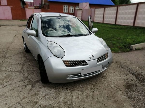 Nissan March, 2002 год, 143 000 руб.