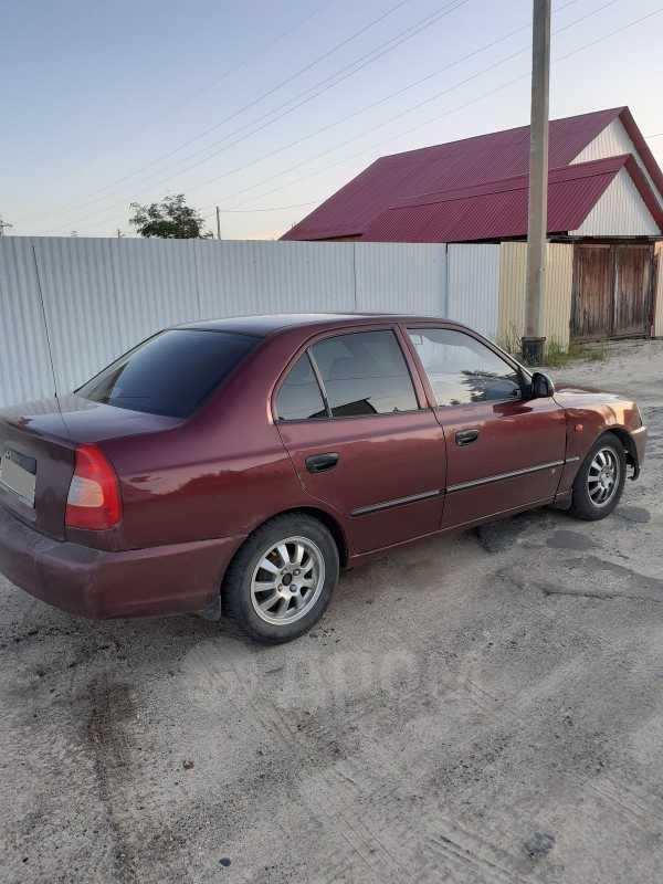 Hyundai Accent, 2007 год, 120 000 руб.