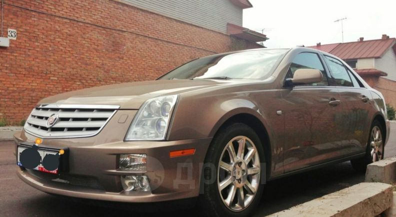 Cadillac STS, 2007 год, 620 000 руб.