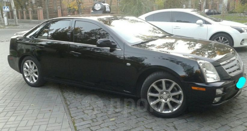 Cadillac STS, 2007 год, 605 000 руб.