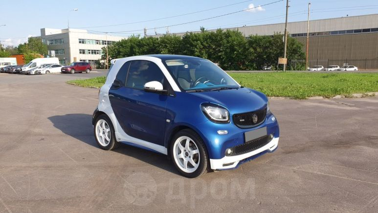 Smart Fortwo, 2016 год, 1 050 000 руб.